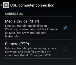 Windows10にUSB接続したAndroidが認識できない …